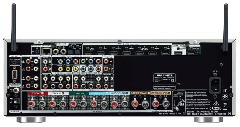 marantz sr5009 surrond receiver multiroom airplay